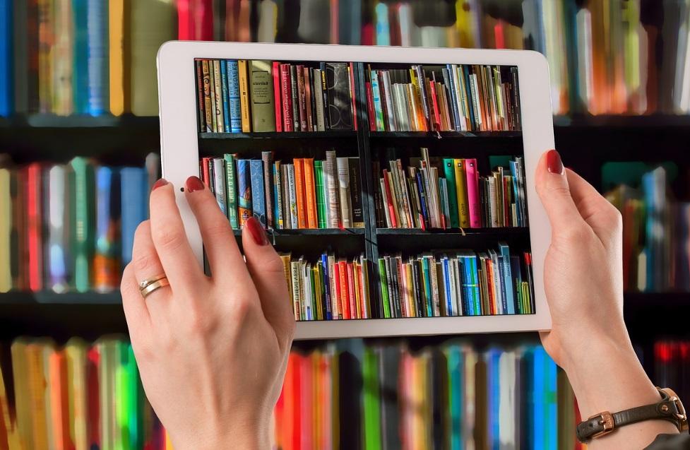 Tablette numérique et bibliothèque