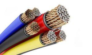 Des câbles électriques